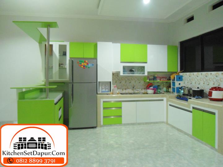 Tukang kitchen set bogor harga murah hub 0812 8899 3791 for Tukang kitchen set