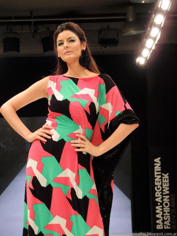 Moda 2014 Adriana Costantini vestidos verano 2014.