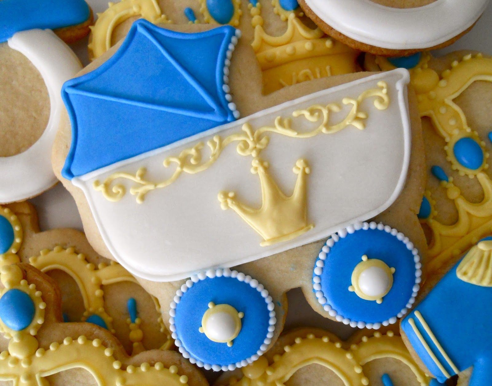 Prince baby shower cake ideas and designs for A new little prince baby shower decoration kit