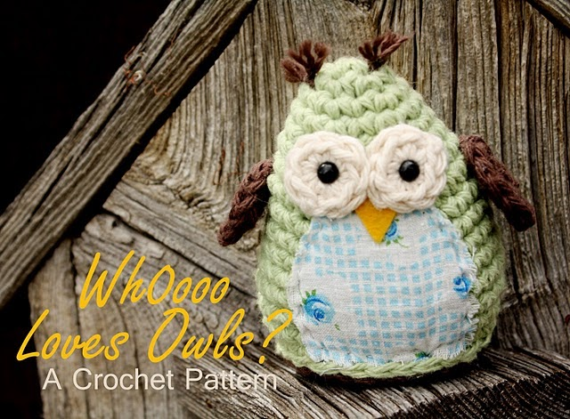 Free Crochet Pattern For Owl Toy : 2000 Free Amigurumi Patterns: Simple and Sweet Free Owl ...