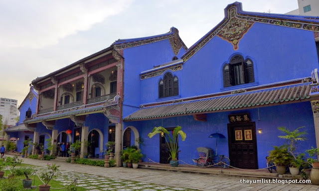 The Blue Mansion, Penang, boutique heritage hotel