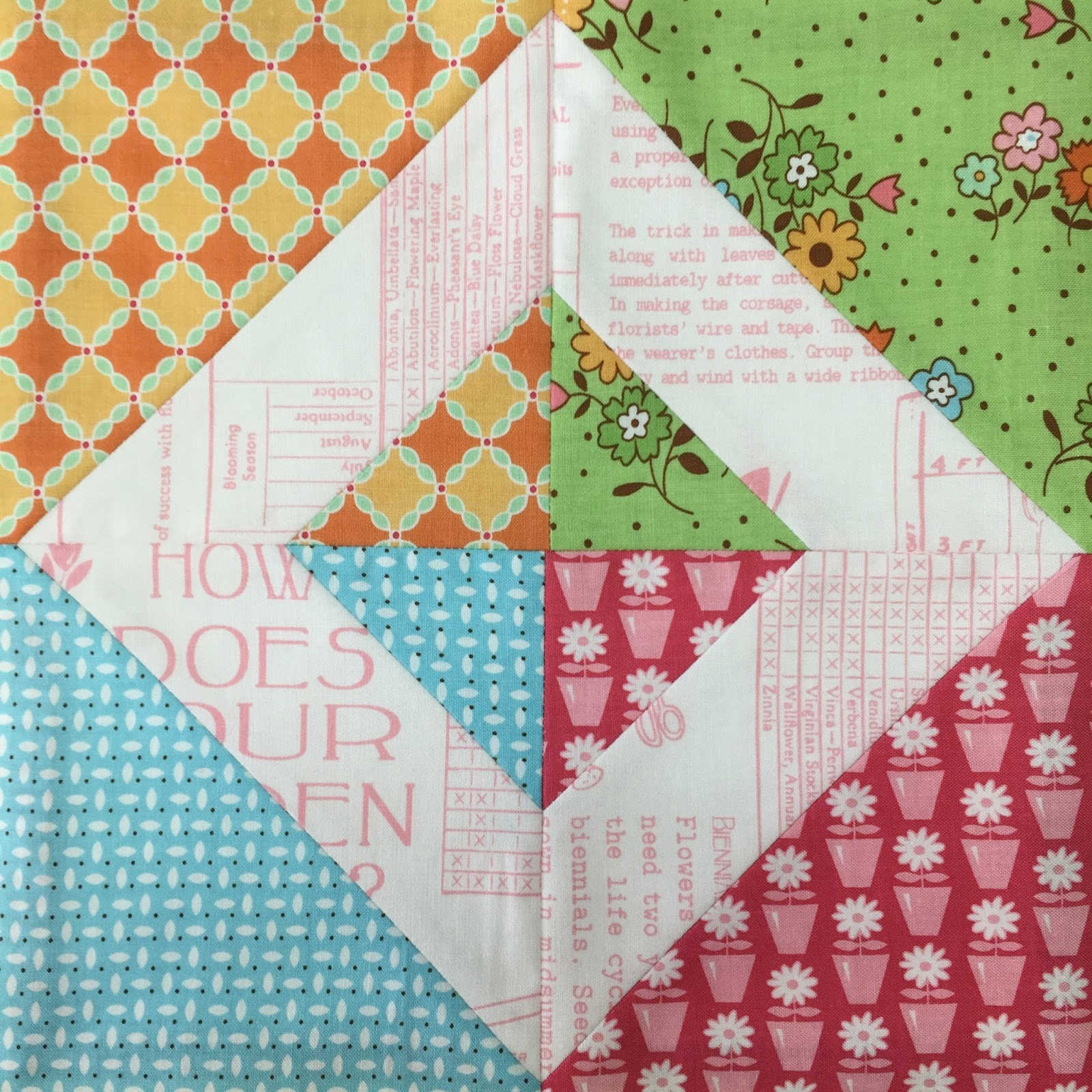 Bee In My Bonnet My Flower Box Quilt Block Tutorial And