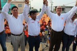 Revocación de mandato, compromiso de los candidatos de Movimiento Ciudadano: Dante Delgado