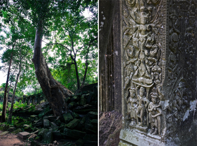 Lost Temples, siem reap cambodia