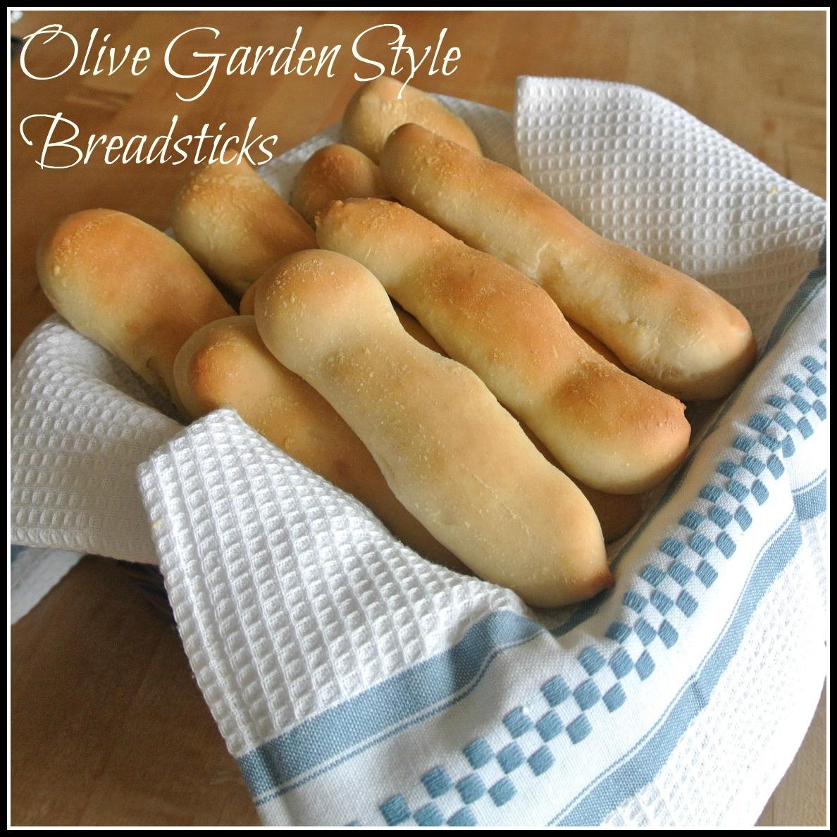 Gourmet Cooking For Two: Homemade Olive Garden Breadsticks