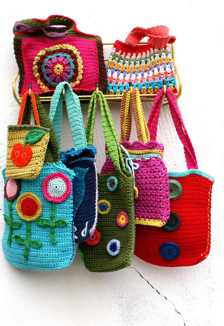 Crochet Simple Bag : Pretty things found at INGTHINGS ... ?
