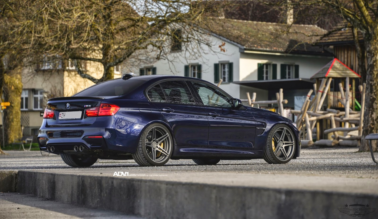 BMW F80 M3 On ADV05 MV2 By ADV.1 Wheels
