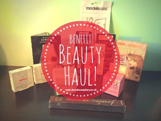 Benefit Beauty Haul