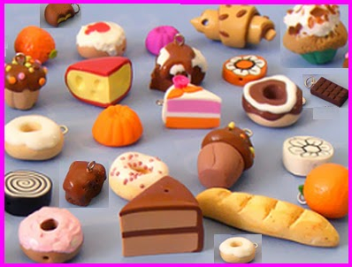 Okura memory artland ideas of clay food made with for Polymere cuisine