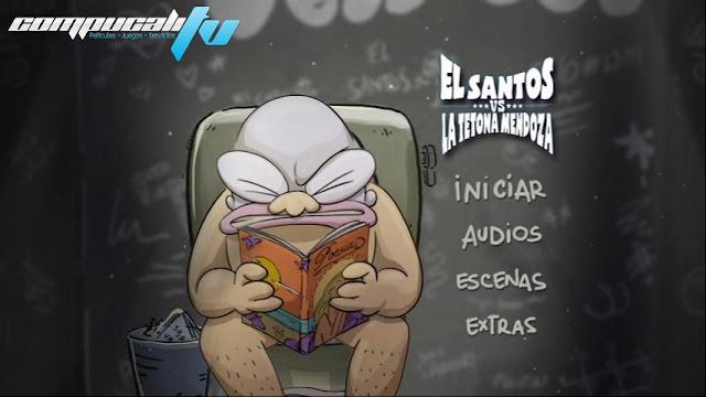 El Santos vs la Tetona Mendoza DVDR NTSC Español Latino