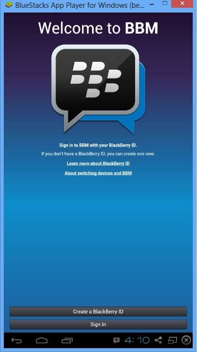 How To Install And Use BBM On PC Using Bluestacks