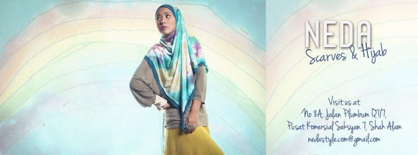 NEDA Scarves & Hijab
