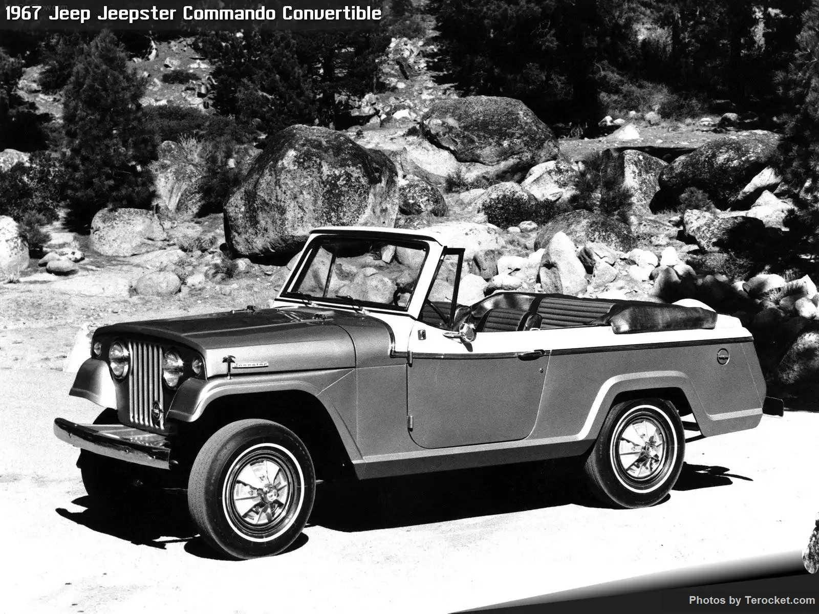 Hình ảnh xe ô tô Jeep Jeepster Commando Convertible 1967 & nội ngoại thất