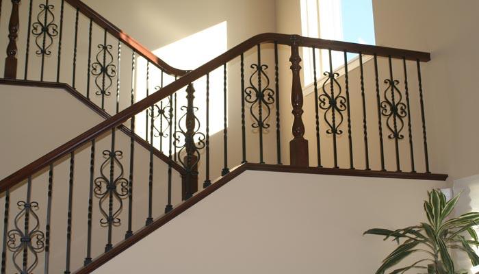 Balconeria y herrer a avila Escaleras herreria para interiores