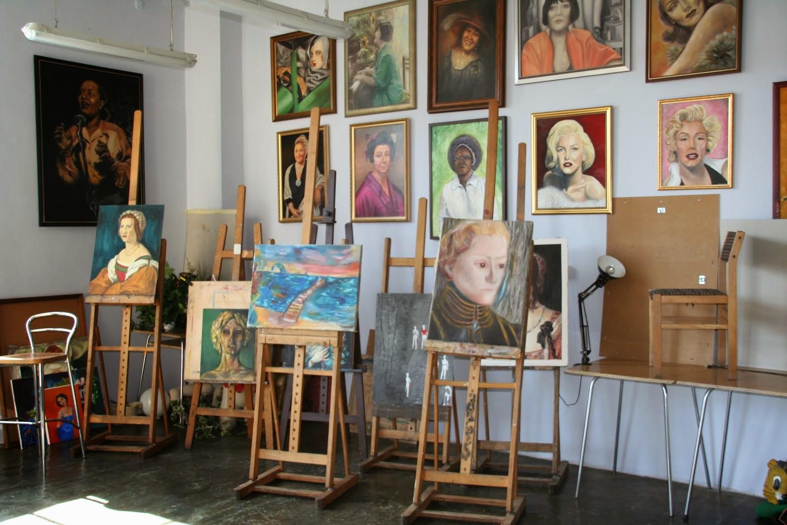 Atelier malarskie
