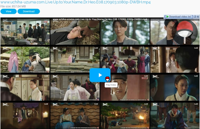 Screenshots Drama Korea Live Up to Your Name, Dr Heo aka Myeongbulheojeon aka Deserving of the Name aka 명불허전 (2017) Episode 08 1080p 720p 480p 360p Subtitle English Indonesia MP4