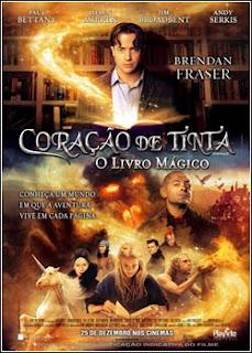 Download - Coração de Tinta - O Livro Mágico DVDRip - AVI - Dual Áudio