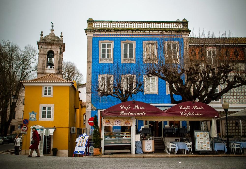 Street shops sintra portugal