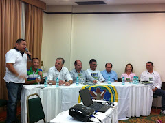 Mesa de abertura com o Coordenador Nacional da Conaccovest
