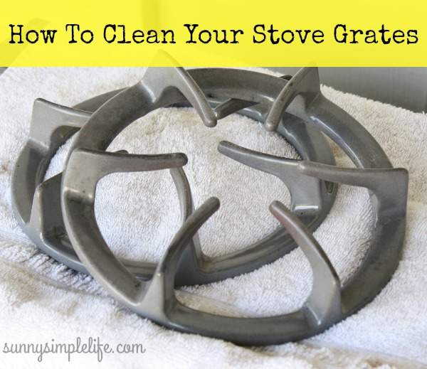 cleaning tip, stove, kitchen
