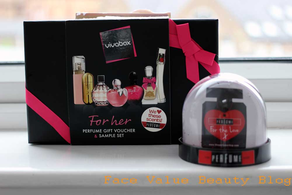 How To Pick Perfume: Vivabox Gift Box from The Perfume Shop