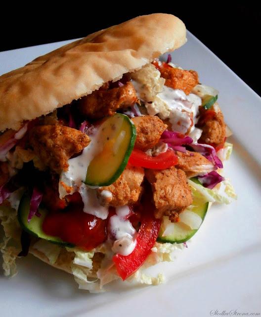 Domowy Kebab (Kebab z Kurczaka) - Przepis - Słodka Strona