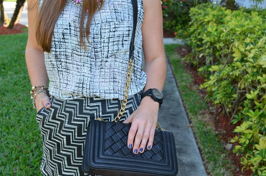 black clutch - black watch