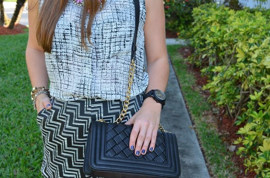 black clutch - black watch