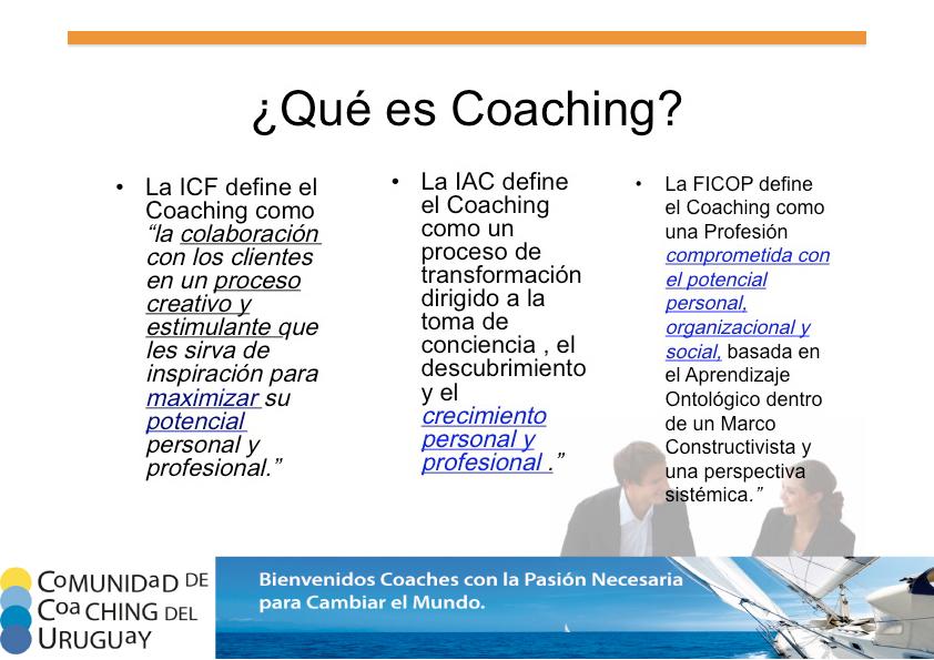 Qué es Coaching?