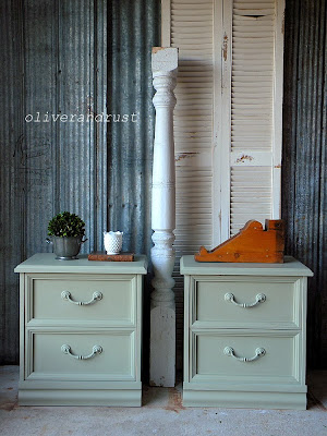 http://www.oliverandrust.com/2013/07/chateau-green-end-tables.html