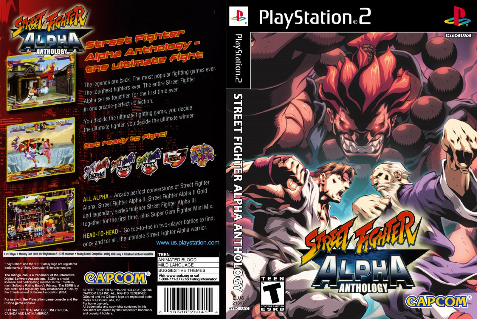 Street Fighter Alpha Anthology Game