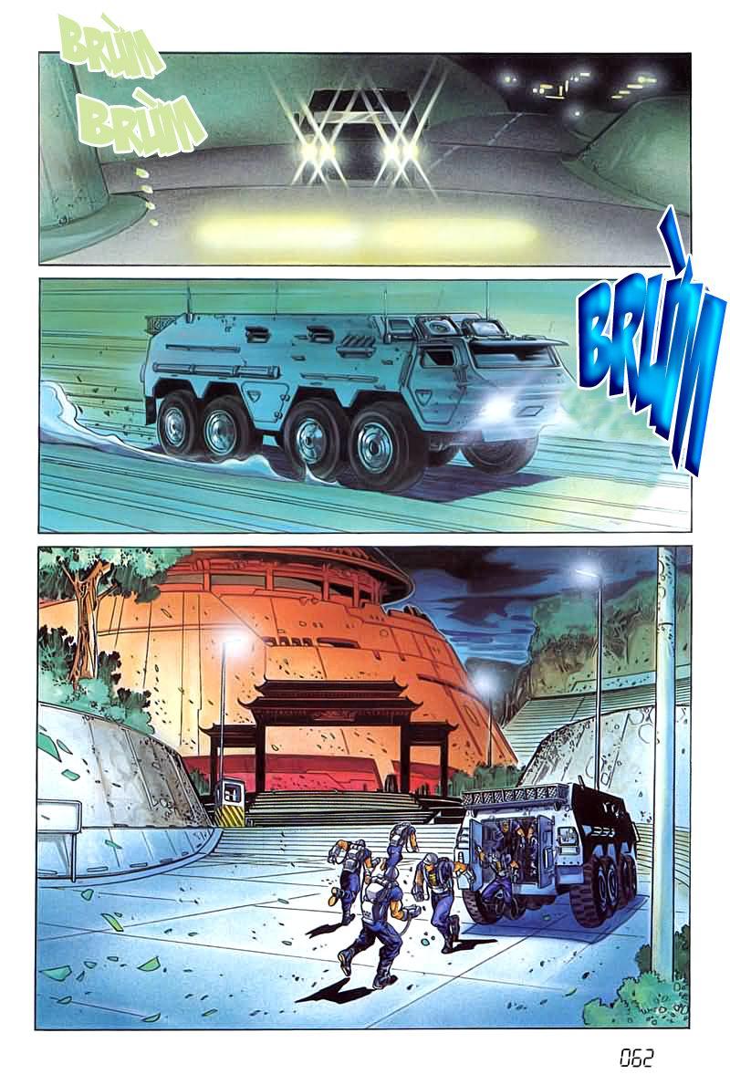 Cyber Weapon Z - Siêu Thần Z chap 4 - Trang 21