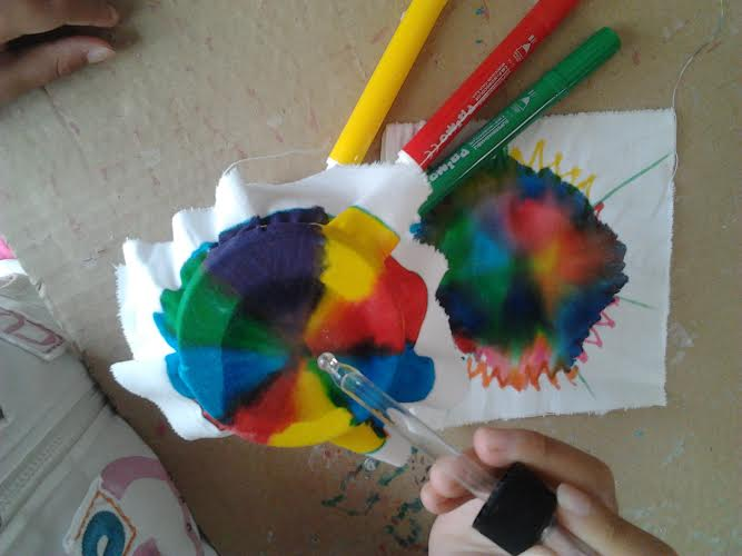 """Amato Associazione """"ai piedi dell'arcobaleno"""": Percorso di pittura per  QH99"""