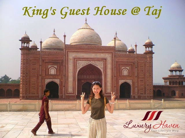 luxury haven travel blogger taj mahal review