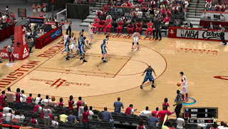 NBA 2K13 Houston Rockets Court - Toyota Center Mod
