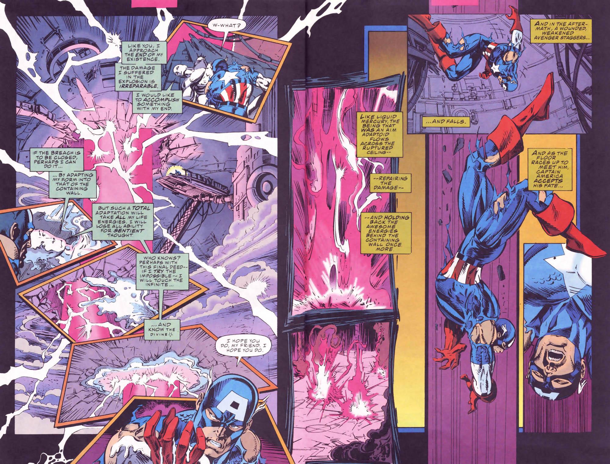 Captain America (1968) Issue #441b #395 - English 17