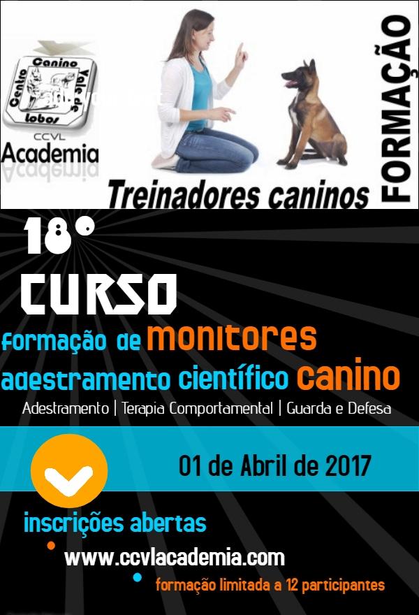 18º Curso de Formação de Monitores de Adestramento Científico Canino