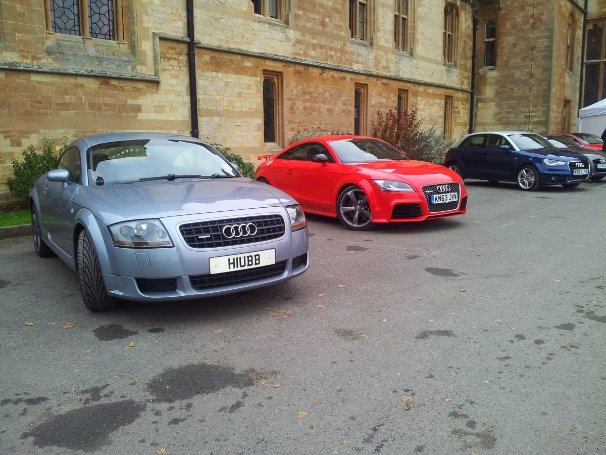 Audi TT Shootout – Mk1 3.2 V6 vs Mk2 2.5 RS