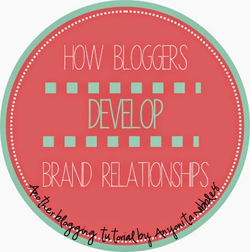 She shares five really useful techniques for developing relationships with brands.