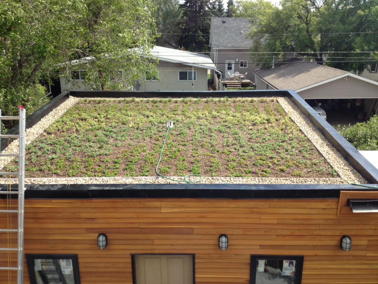 Ecofriendly Sask Saskatoon S First Residential Green Roof