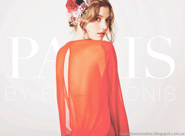Paris By flor Monis blusas primavera verano 2014.