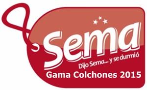 Nueva Gama de Colchones Sema 2015 en Colchones y Más