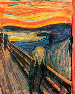 'The Scream' (1893), óleo del artista noruego Edvard Munch, tomado de Wikipedia