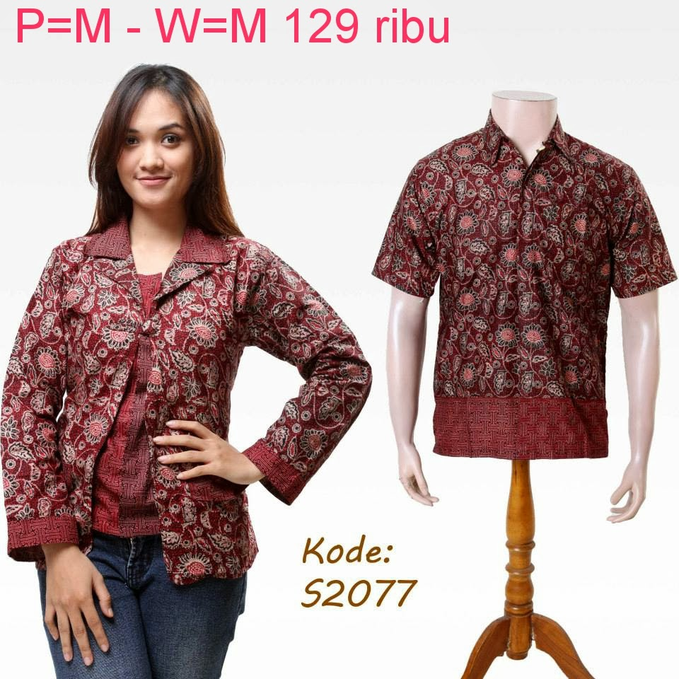 Baju Couple Batik Model Baju Batik