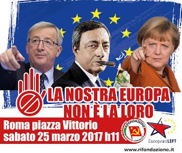 La nostra Europa. Appuntamento a Roma.