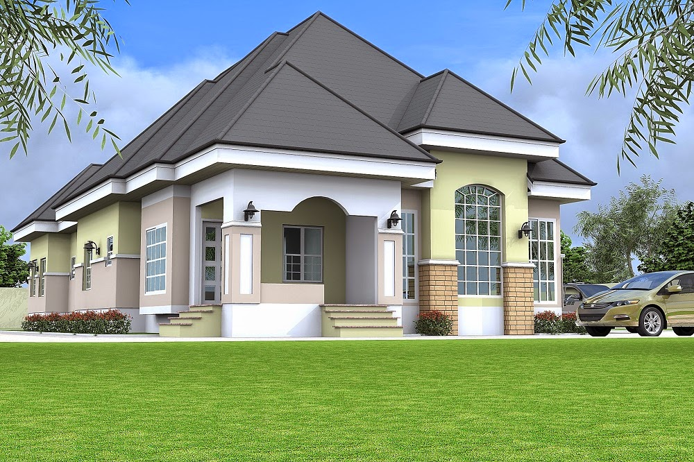 Architectural designs by blacklakehouse 5 bedroom for 5 bedroom bungalow house designs