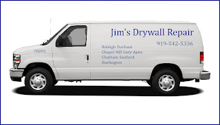 Call Jim 919-542-5336 - Drywall Repair Contractors providing service in Durham, NC.