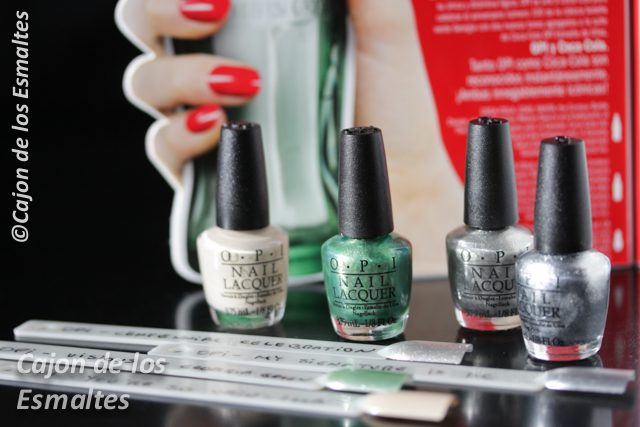 OPI Coca Cola 2015 collection