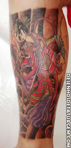 Gueixa em Tattoo