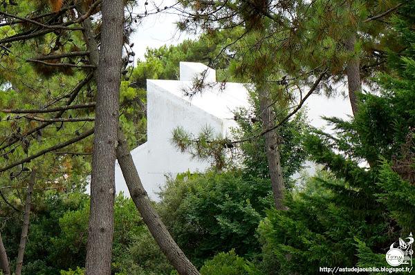 Cap-Ferret - Villa Bouesseau, rue Merlot  Architecte: Adrien Courtois, Yves Salier, Pierre Lajus, Michel Sadirac  Construction: 1965